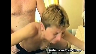 Mature Brit housewife is fucked in her ass