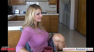 Busty mom Vicky Vette take weenie in POV style