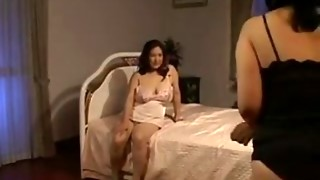 Two Sexually excited Japanese Mammas In A 3some