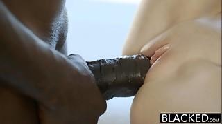 BLACKED Hot Assistant Odette Delacroix 1st BBC