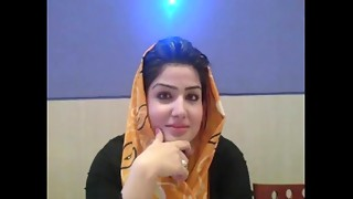 Gracious Pakistani hijab Lustful chicks talking regarding Arabic muslim Paki Sex in Hindustani at S